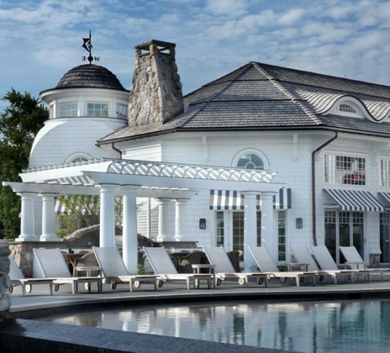 Playful Michigan Pool House: Scott Christopher Homes